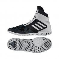 Adidas Boxschuhe Flying Impact black / white