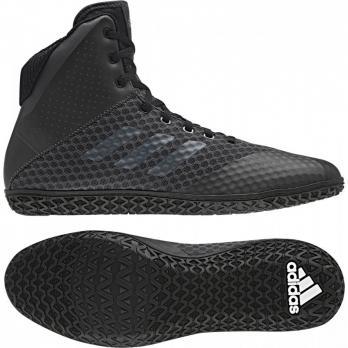 Boxschuhe Adidas Mat Wizard 4 Carbono Schwarz