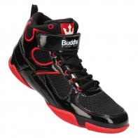 Boxschuhe Buddha One dark black / red