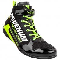 Boxschuhe Venum Elite Giant Low VTC 2 black/neo yellow