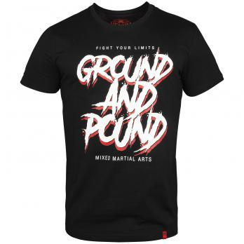T-shirt Venum  Ground And Pound Schwarz