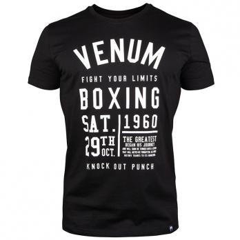 T-shirt Venum Knock Out Schwarz