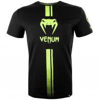 T-shirt Venum Logos black/neo yellow