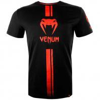 T-shirt Venum Logos schwarz / rot