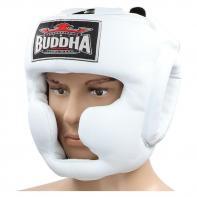Helm boxe Buddha training Thailand white