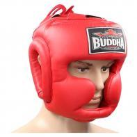 Helm boxe Buddha training Thailand red