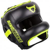 Helm boxe Venum Ringhorns Nitro schwarz neo yellow By Venum