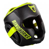 Helm boxe Venum Ringhorns Charger schwarz Neo Yellow By Venum