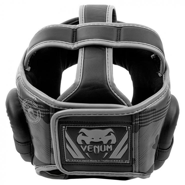 Helm boxe Venum Elite Black / Dark Camo