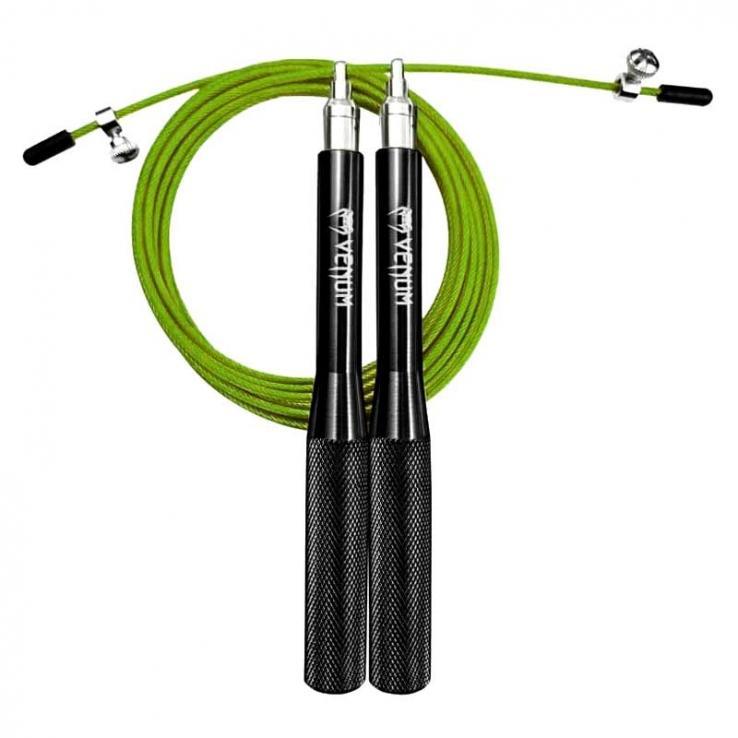 Venum Thunder Jump Rope Evo black  / green