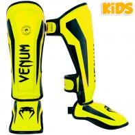 Shinguard Venum Kids Elite neo yellow
