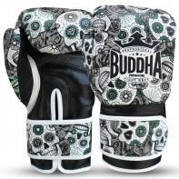 Boxhandschuhe Buddha Mexican schwarz
