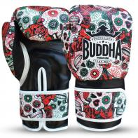 Boxhandschuhe Buddha Mexikanisch rot