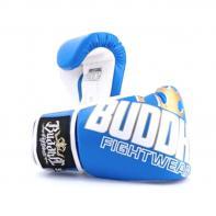 Boxhandschuhe Buddha Millenium blau / weiß