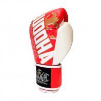 Boxhandschuhe Buddha Millenium rot / weiß Kids