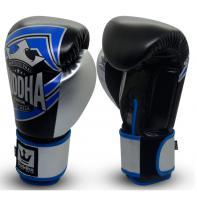 Boxhandschuhe Buddha Scorpion Blau Schwarz