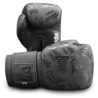 Boxhandschuhe Buddha Top Premium Mattschwarz