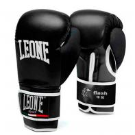 Boxhandschuhe Leone Flash Schwarz/Schwarz