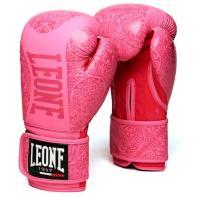Boxhandschuhe Leone Maori pink