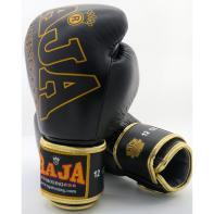 Boxhandschuhe Raja Premium Special Leather Schwarz