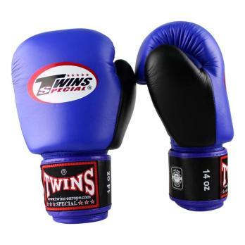 Boxhandschuhe Twins BGVL 3 Retro Blau / Schwarz