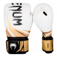Boxhandschuhe  Venum Challenger 3.0 Weiß / Schwarz / Gold