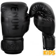 Boxhandschuhe Venum kind Elite black / black