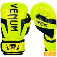 Boxhandschuhe Venum kind Elite neo yellow