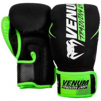Boxhandschuhe Venum Training Camp 2.0 Black/Neo Yellow
