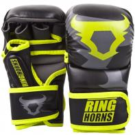 MMA Handschuhe Ringhorns Charger Sparring Neo Yellow By Venum
