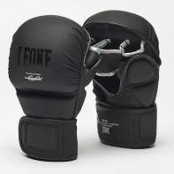 MMA Handschuhe Leone Black Edition Sparring