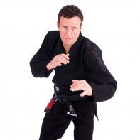 Gi Jiu Jitsu Tatami Essential schwarz