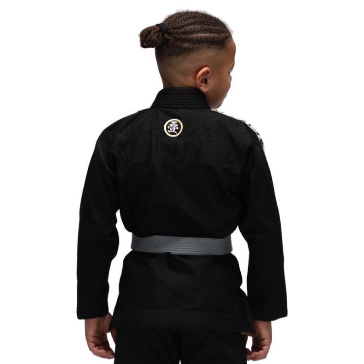 BJJ Gi Tatami Nova Absolute Kids Schwarz  + Weiß Gürtel