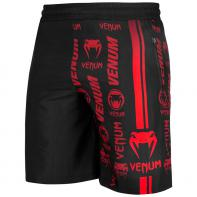 Fitness Venum Shorts Logos black / red