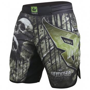 MMA Shorts Buddha Skull