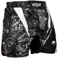 MMA Venum Shorts Art Schwarz/Weiß