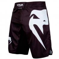 MMA Venum Shorts Light 3.0 Schwarz/Weiß