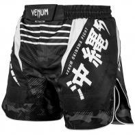 MMA Venum Shorts Okinawa 2.0 Schwarz/Weiß