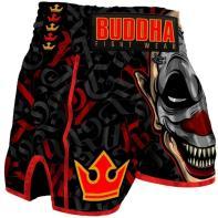 Muay Thai Short Buddha Retro Crown Kids