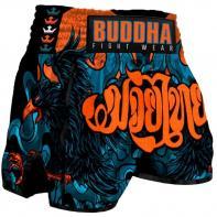 Muay Thai Shorts Buddha Retro Eagle