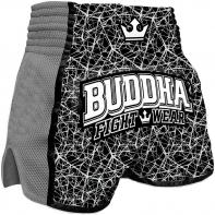 Muay Thai Short Buddha Retro Galactic