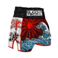 Muay Thai Short Buddha  Retro Tsunami Kids