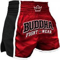 Muay Thai Short Buddha Retro x Rot