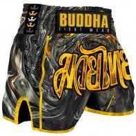 Muay Thai Shorts Buddha Turbulence
