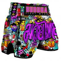 Muay Thai Short Buddha Zippy