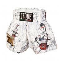 Muay Thai Short Leone Ramón Jr Kids Weiß
