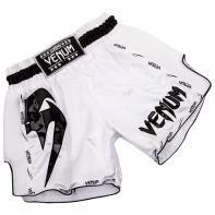 Muay Thai Short Venum Giant Weiß / Schwarz