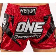 Muay Thai Short Venum X One FC red