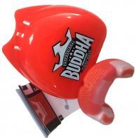 Mundschutz Boxen Buddha Premium red