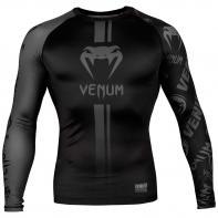 Rashguard Venum Logos l/s schwarz / schwarz